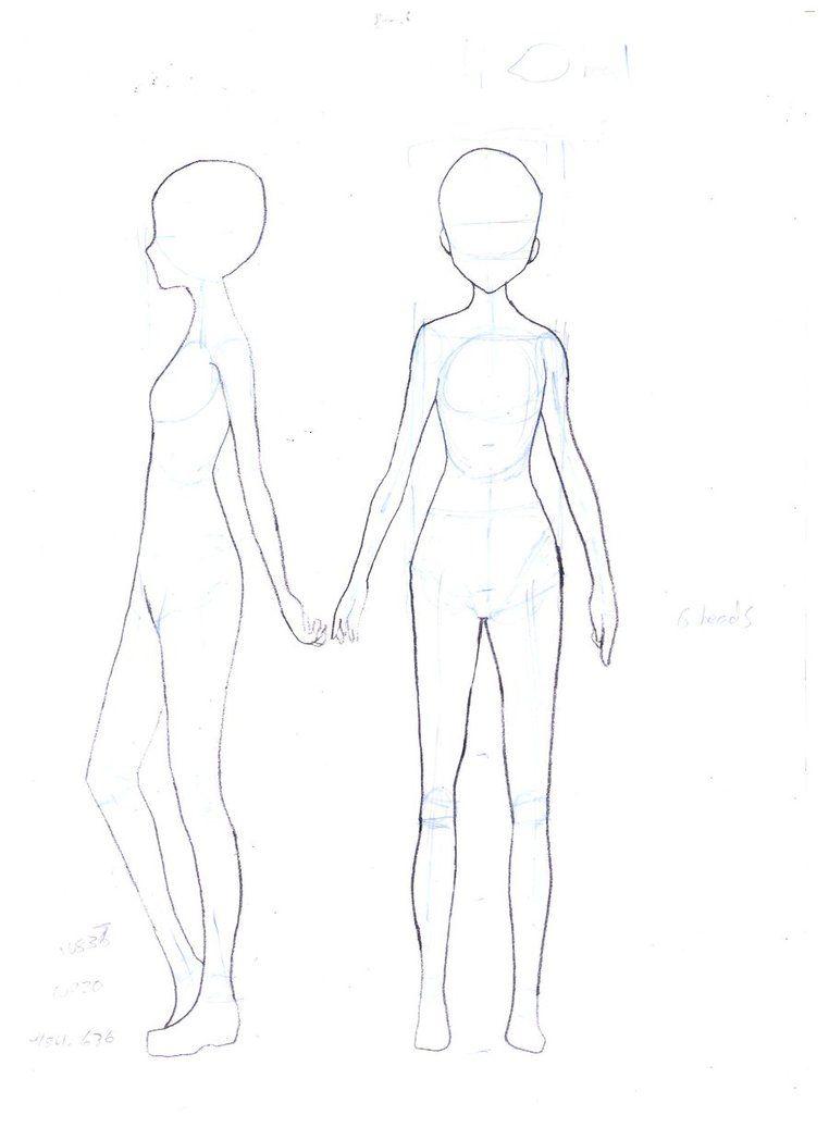 Female Body Template by ~FaithTale on deviantART | Drawings