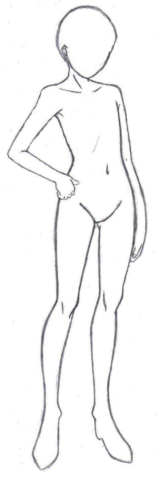 Female Body Template by FaithTale on DeviantArt