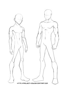 Anime Body Templates For Drawing at GetDrawings.| Free for