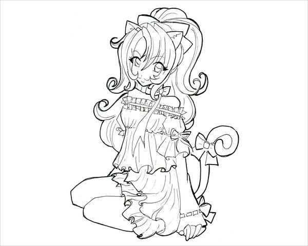 Anime Girl template by Smokestar11 on DeviantArt