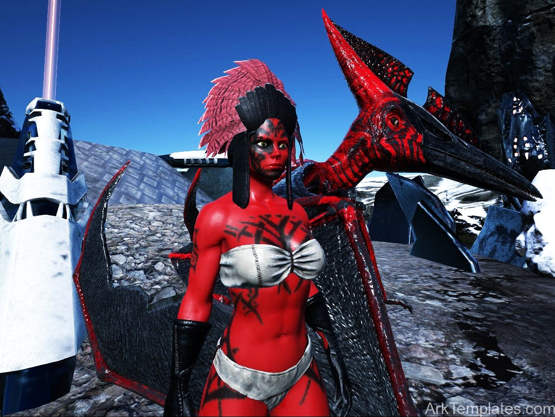 Female Darth Talon Bodypaint | Ark Templates