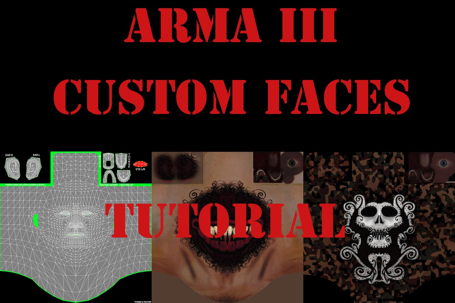 Tutorial] How to use Custom Faces For Arma 3 [German/Deutsch