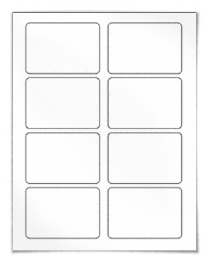 Template for Avery 5395 Adhesive Name Badges 2 1/3
