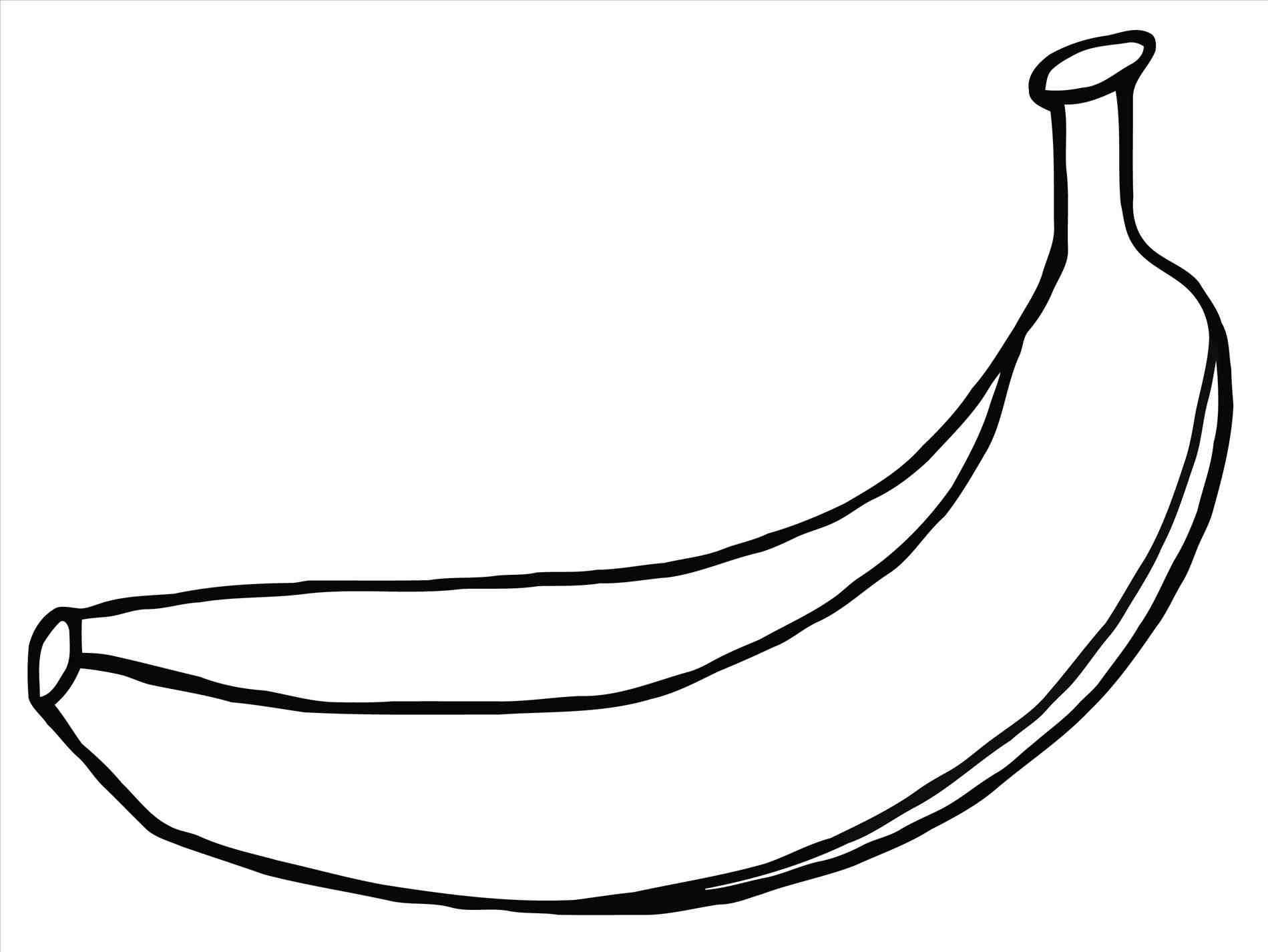 Banana Design Juicy Fresh Fruit Icon Vector Template. Raw Banana