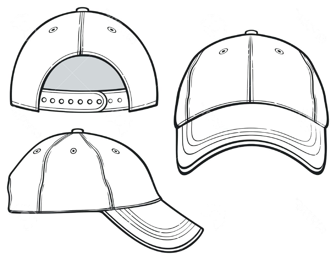 Baseball Cap Design Template | Arts Arts