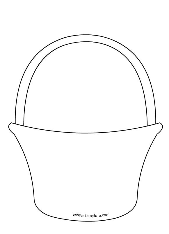 Free Easter Basket Templates Printable – Happy Easter 2018