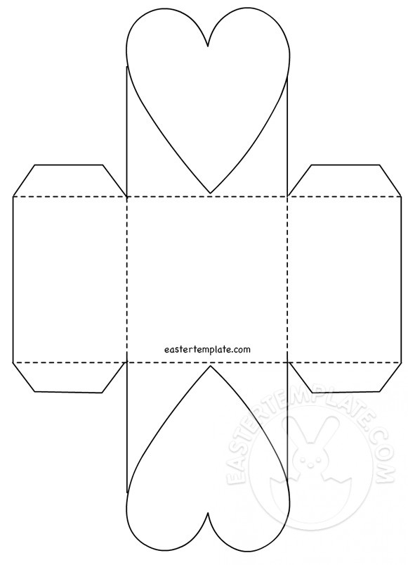 paper basket template | Printable & papers pattern | Pinterest