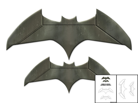 Homemade Batarang: 6 Steps
