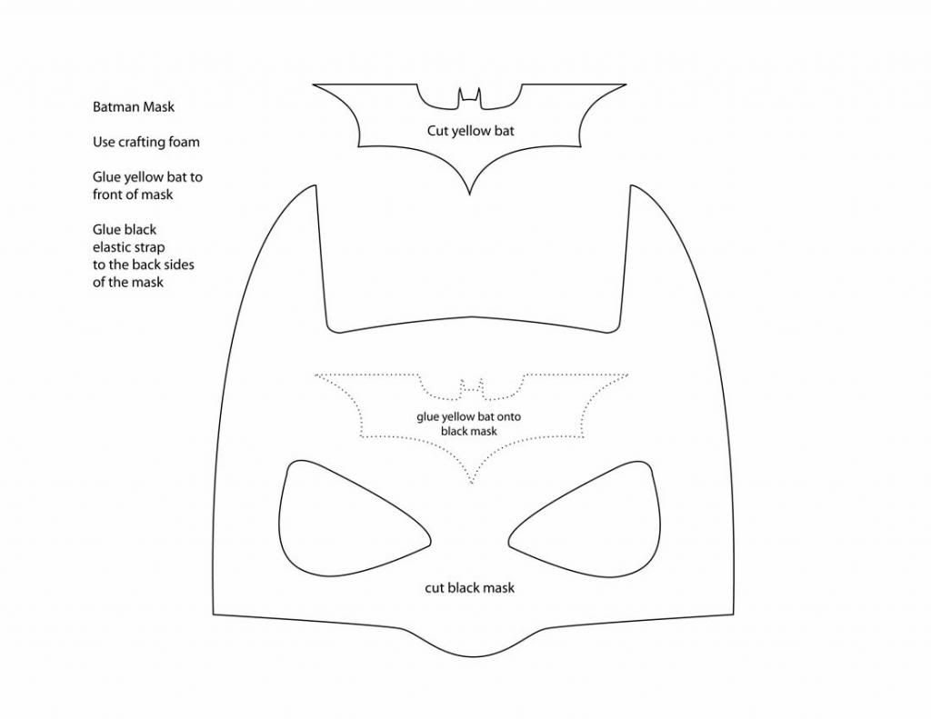 pattern for batman mask | Posted by Anna at 12:52 PM | Sewing
