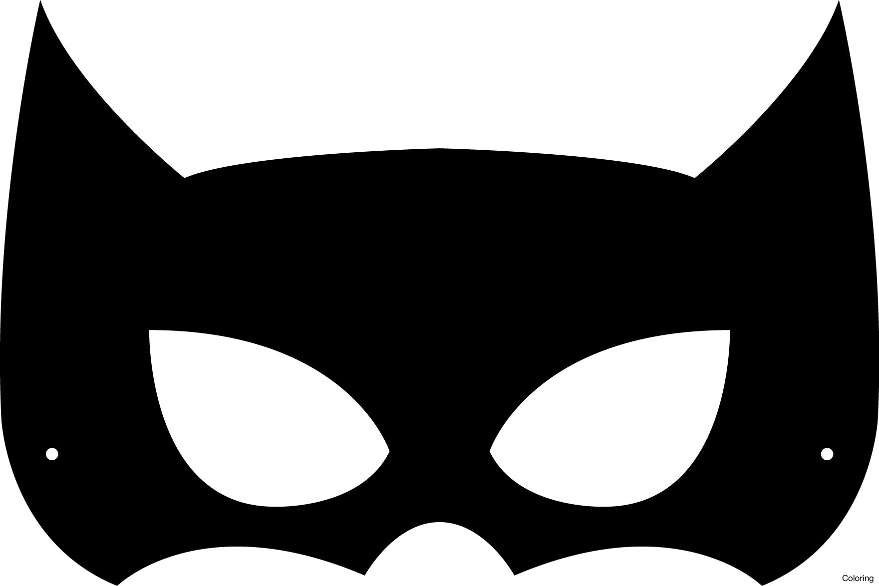 Batman Mask Template   merrychristmaswishes.info