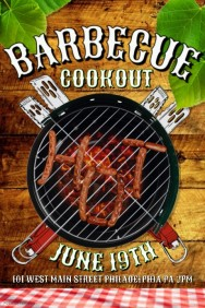 Barbecue Poster Templates   PosterMyWall