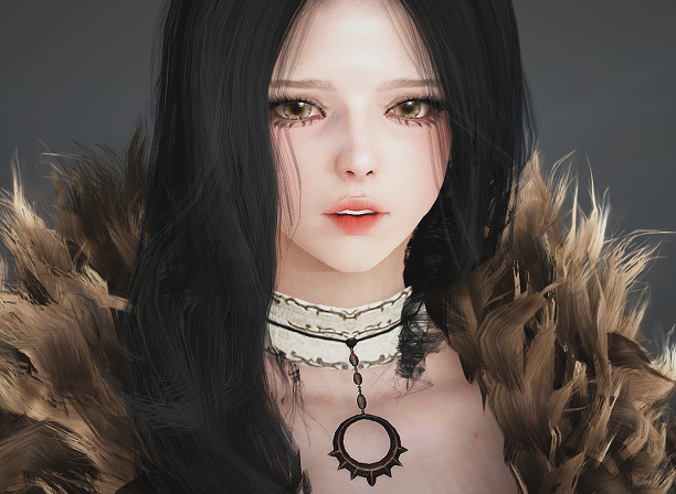 Sad Sorceress BDO Black Desert Online Character Template