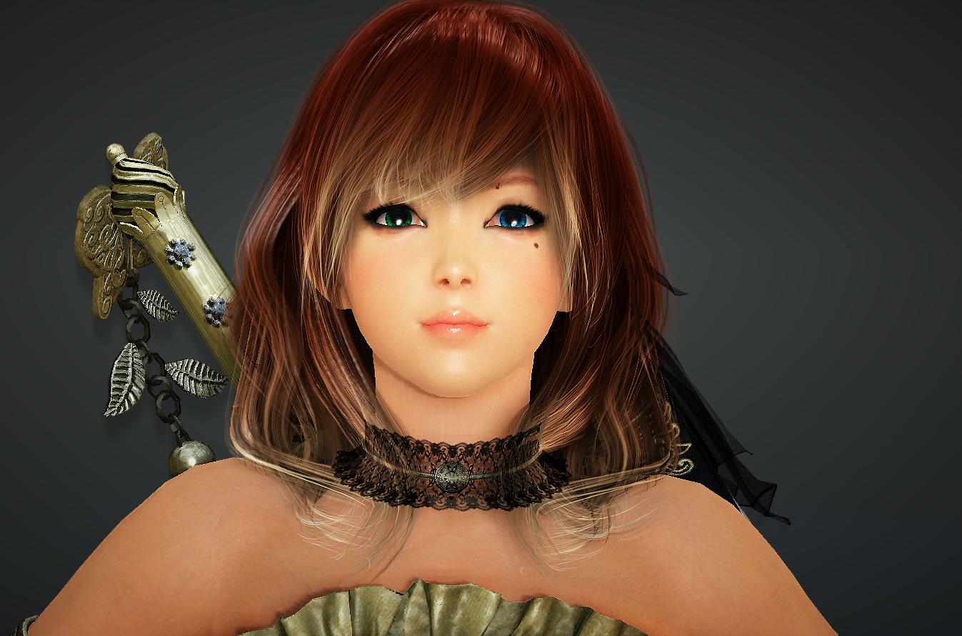 Red Head Tamer 3 BDO Black Desert Online Character Template