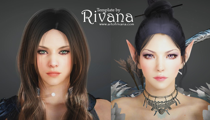 Art of Rivana/Mina (Commisions: Drawings and BDO Templates) CLOSED