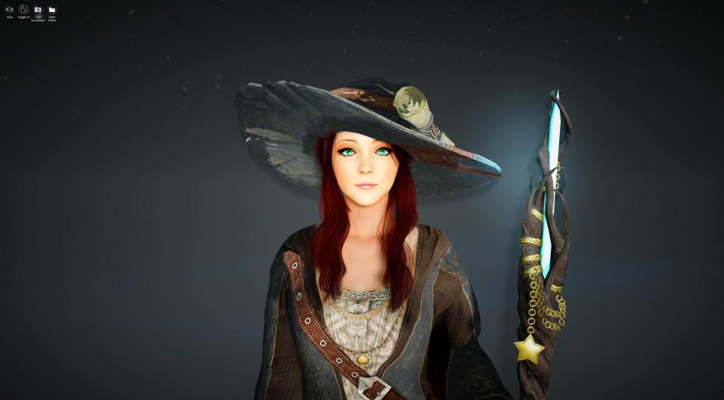 Crescent Moon Witch BDO Black Desert Online Character Template