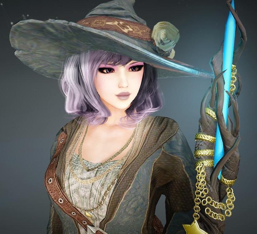 Cute Purple Witch BDO Black Desert Online Character Template