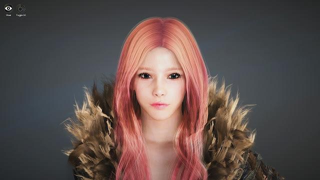 Strawberry Blonde BDO Black Desert Online Character Template