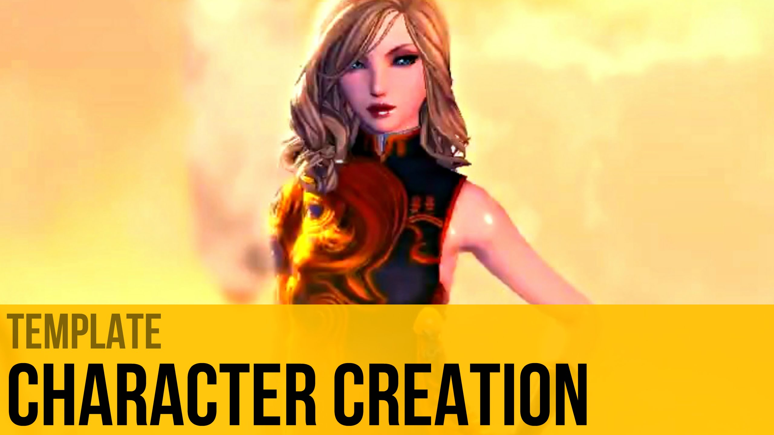 Blade and Soul   Character Creation Female Yun   With Template