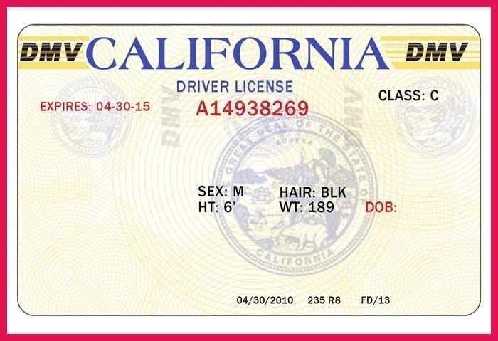 drivers license template blank drivers license template beautiful