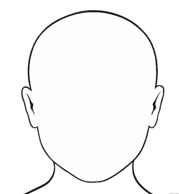 Blank Face Coloring Page GetColoringPages.com