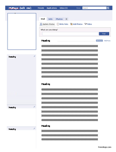 Fakebook Create Your Own Facebook Profile by Best Teacher Resources