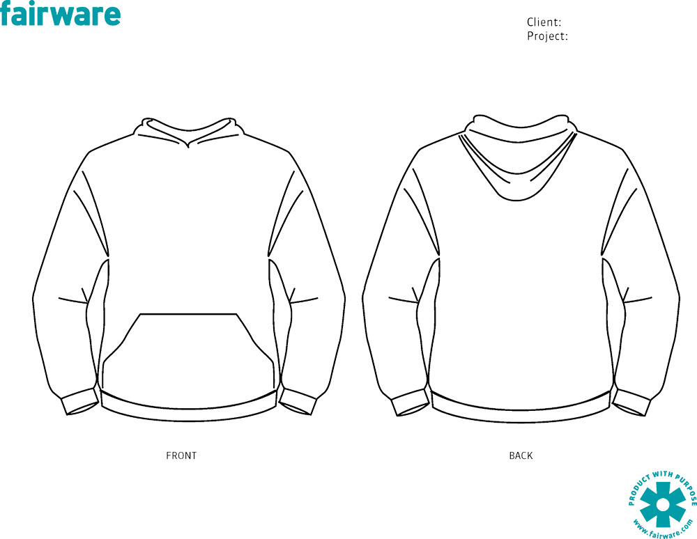 25 Images of Blank Hoodie Template Front Back | leseriail.com