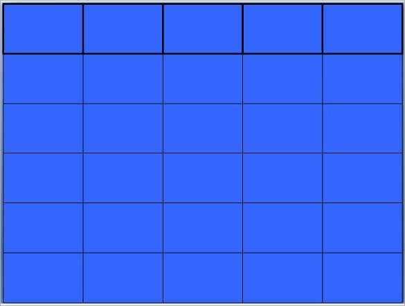jeopardy templates free blank jeopardy template blank templates