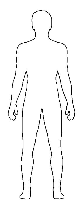 blank human body template April.onthemarch.co