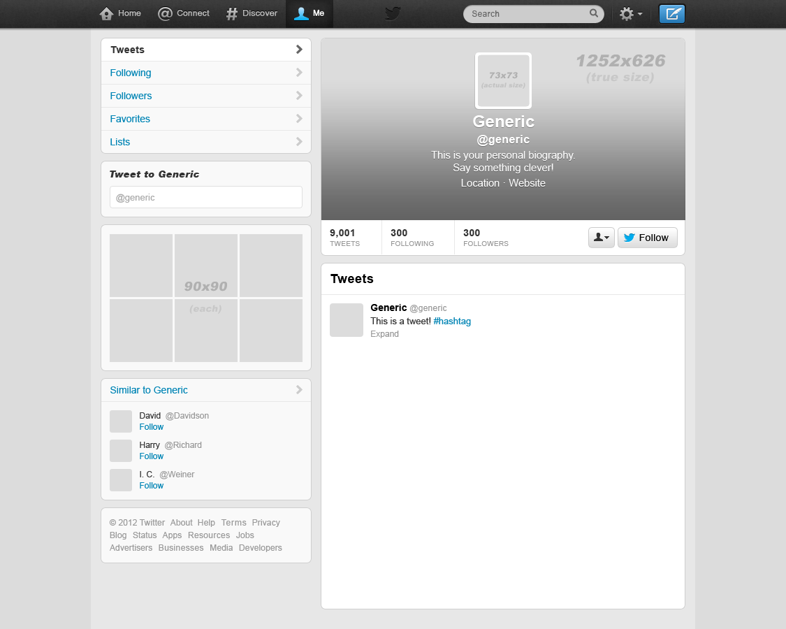 Blank Twitter Template | merrychristmaswishes.info