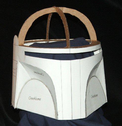 How to scratchbuild a Boba Fett costume using cardboard