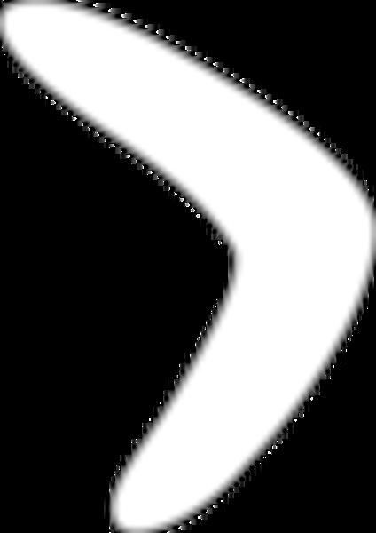 Boomerang Template Printable Early Play Templates Boomerang
