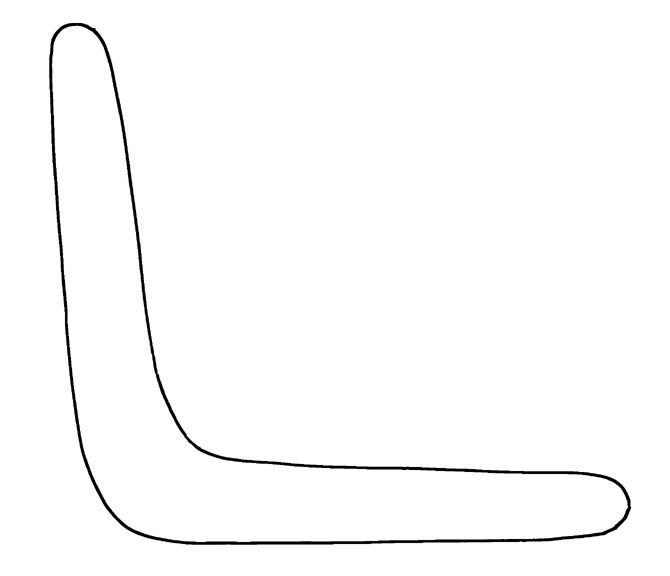 Boomerang Template free to use | Crafts | Pinterest | Template