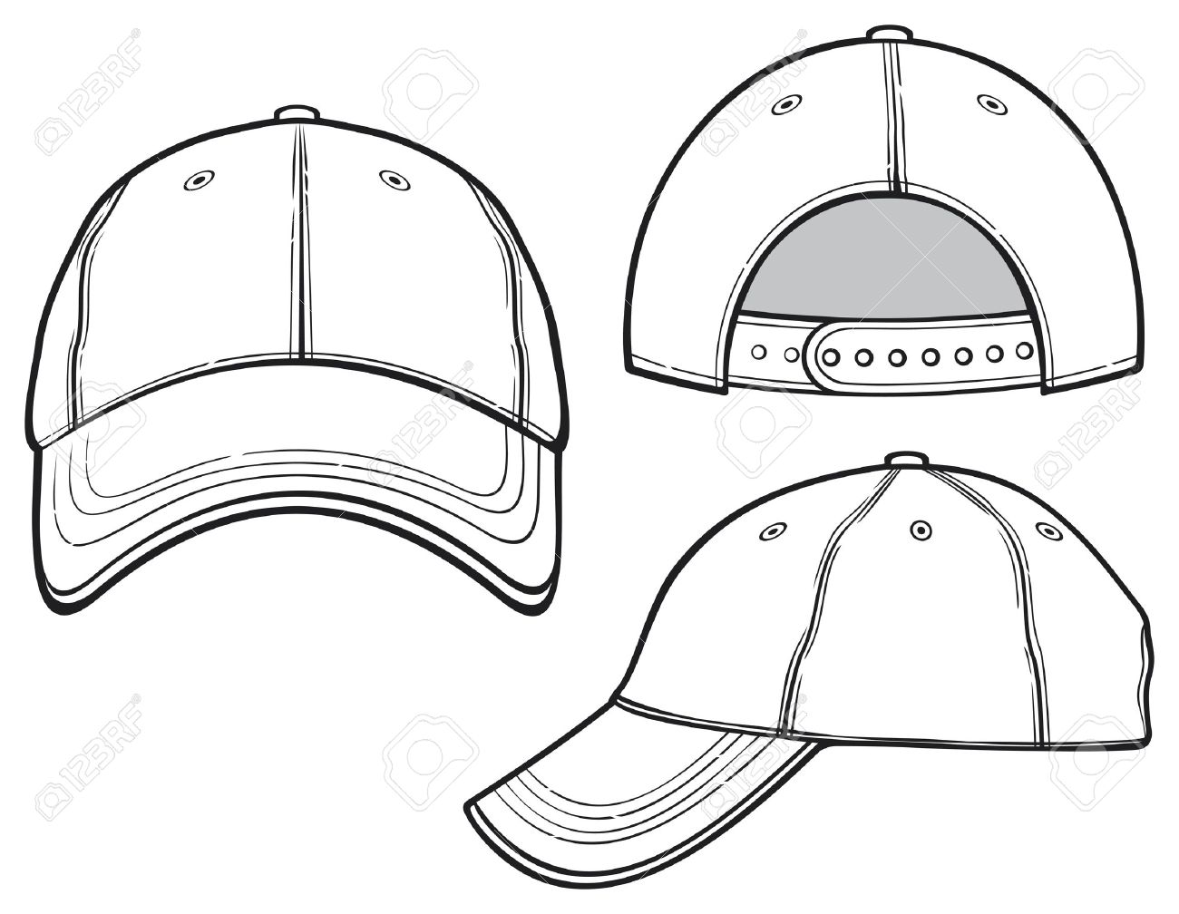 Baseball Cap Royalty Free Cliparts, Vectors, And Stock