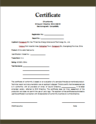 certificate of conformance template free conformity certificate