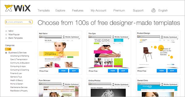 Portfolio Website Templates | Design | Wix