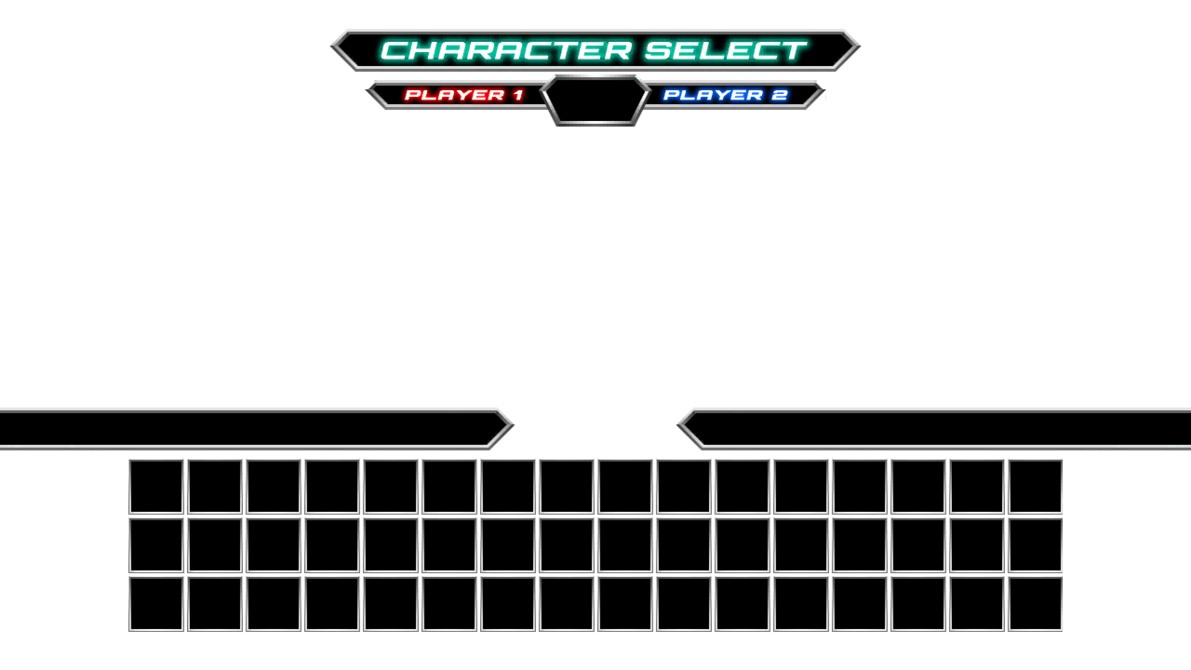 DBCF Character Select Screen Template by Infantry00 on DeviantArt