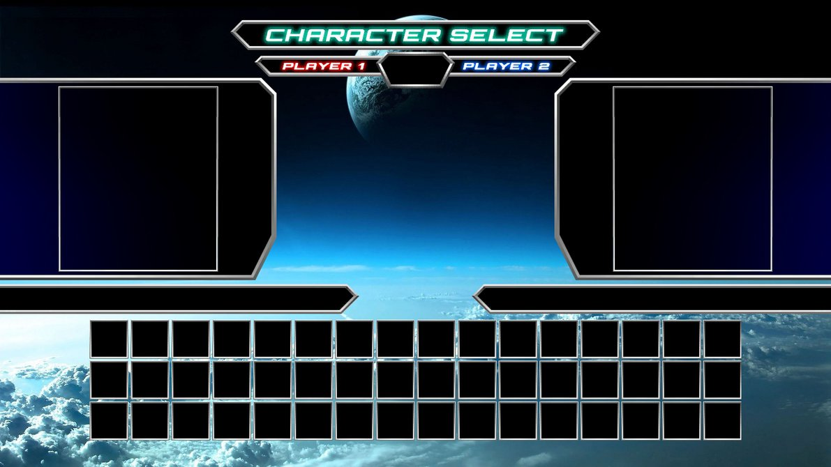 DBFC Character Select Screen for MUGEN V1 by Infantry00 on DeviantArt
