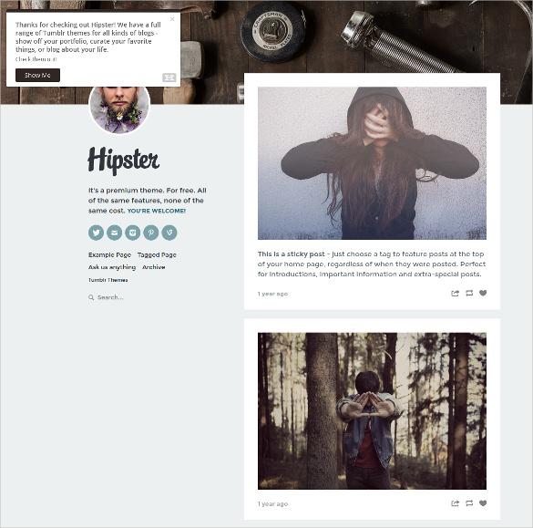 51+ Best Tumblr Themes & Templates | Free & Premium Templates