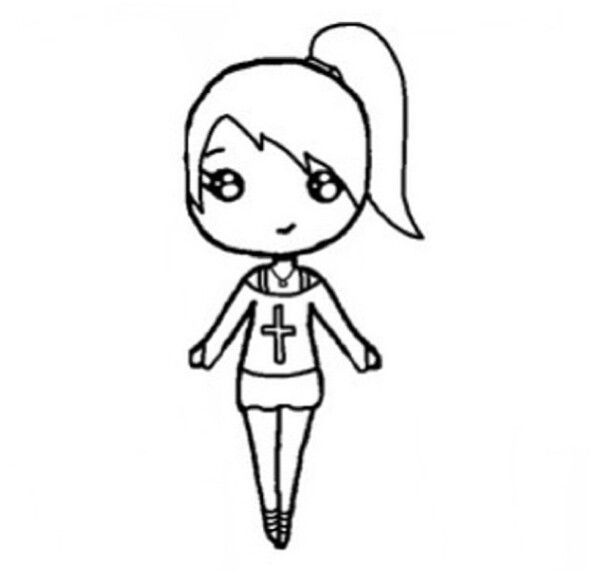 Chibi template | Chibi template | Pinterest | Chibi, Template and