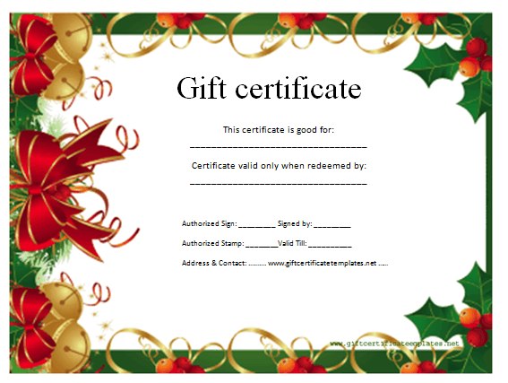 christmas certificates templates free 88 kb jpeg free printable