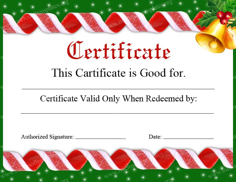 christmas gift certificate template psd christmas gift certificate
