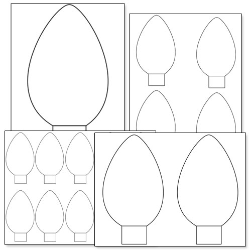 Download Coloring Pages. Christmas Light Coloring Pages: Christmas