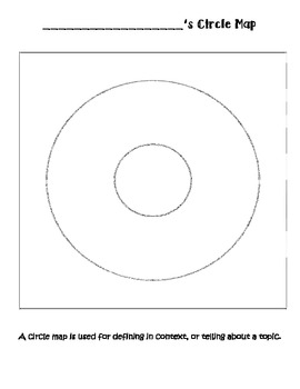 I use this circle map template to introduce circle maps to my
