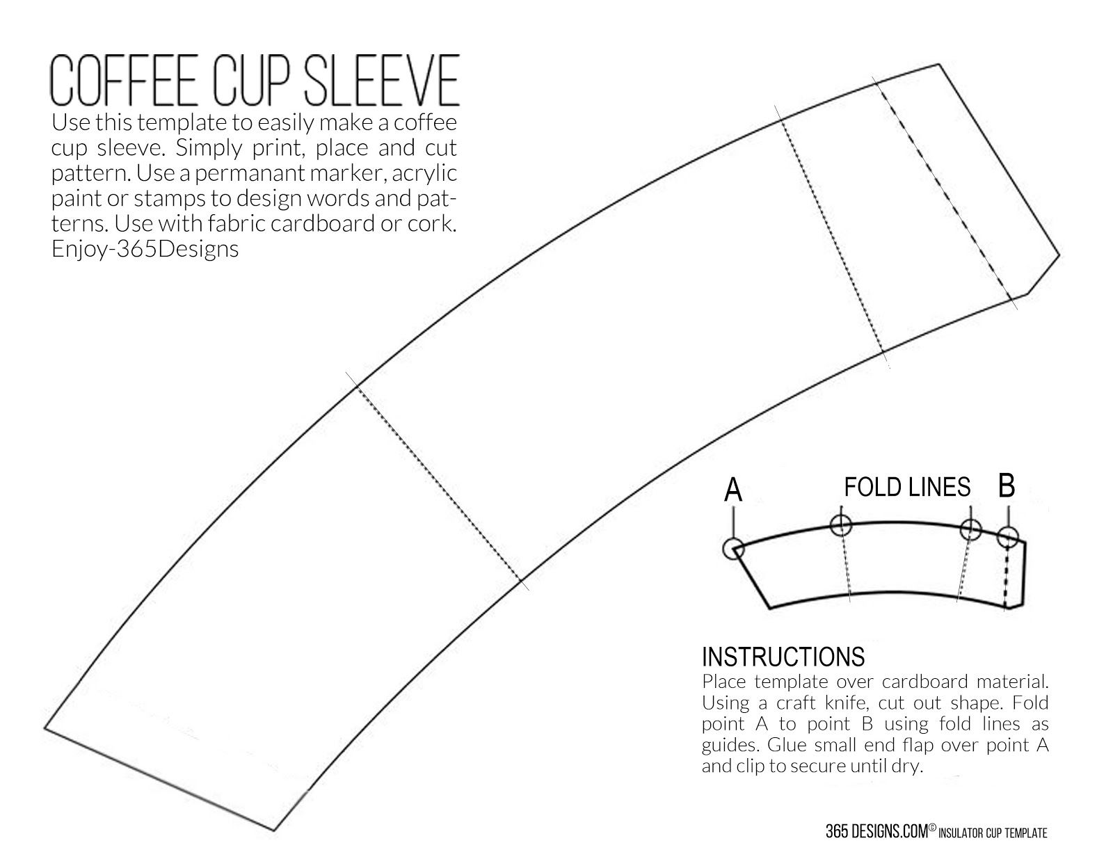 coffee mug template April.onthemarch.co