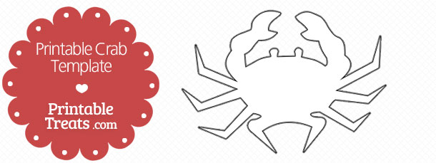 Crab Applique Template PDF | Pinterest | Template, Pdf and Etsy