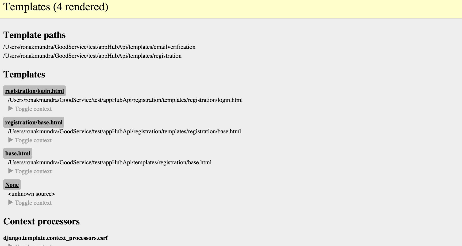 getting TemplateDoesNotExist error in django 1.9 Stack Overflow
