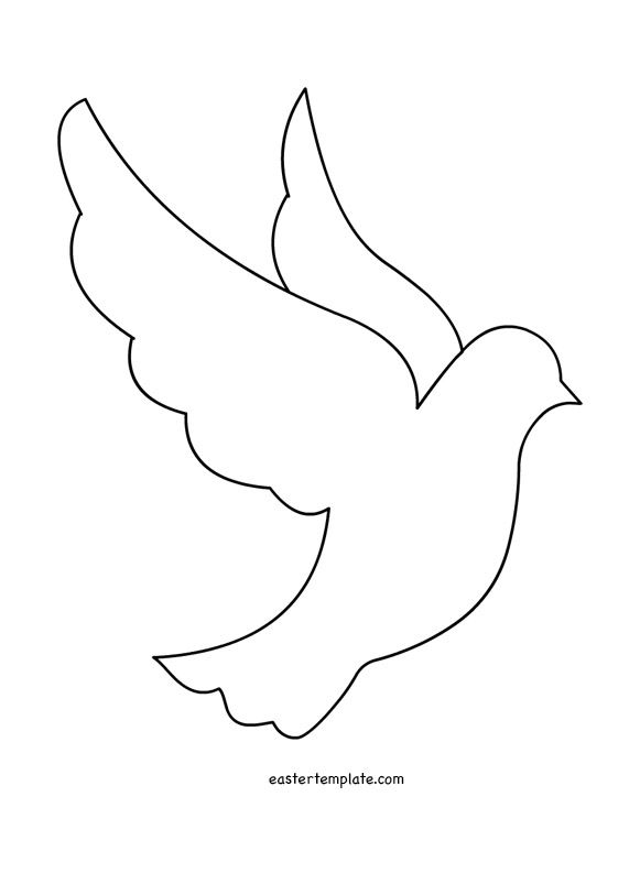 Peace Dove template printable | Quotes | Pinterest | Peace dove