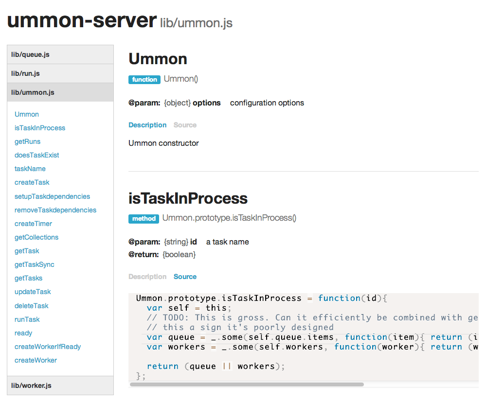 GitHub mattmcmanus/dox foundation: HTML output for Dox