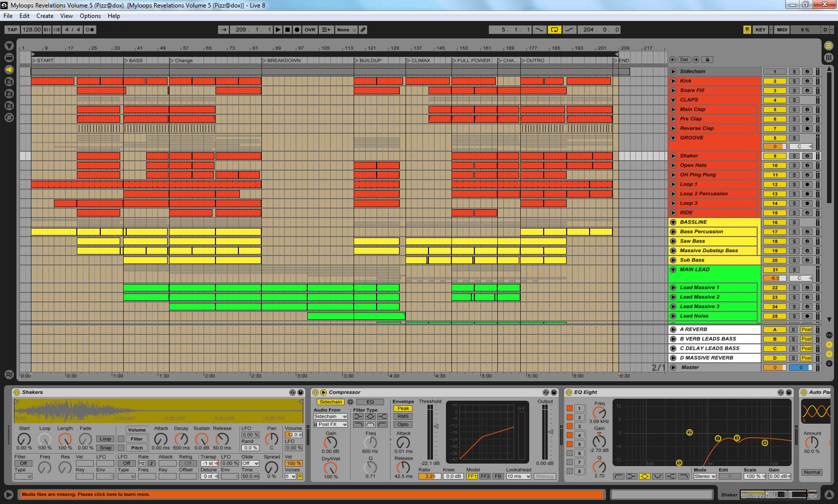Modern Ableton Trance Template Photos Resume Template