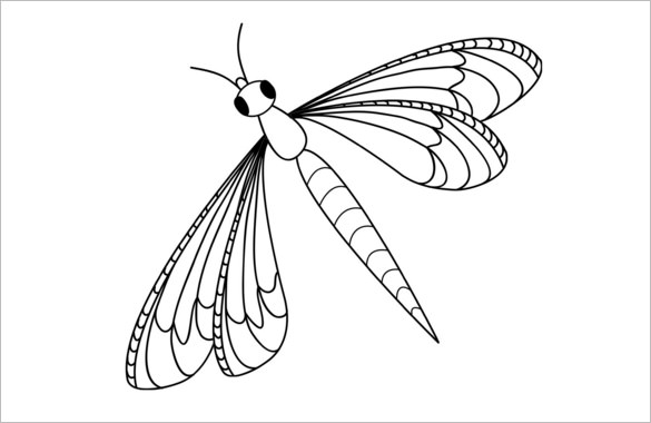 10+ Dragonfly Templates, Crafts & Colouring Pages | Free & Premium